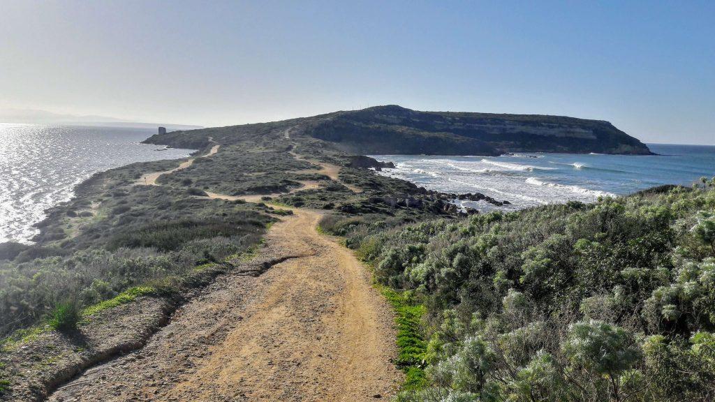 Sentiero verso isola di San Giovanni