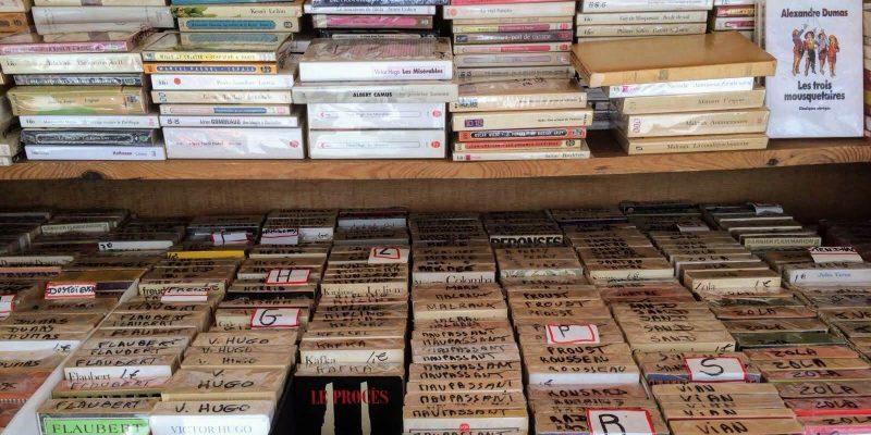 Libreria di strada a Parigi